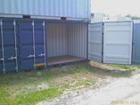 20' side open containers