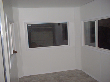 Internal living quarters with tiling