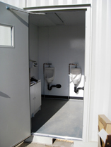 Image of portable washroom