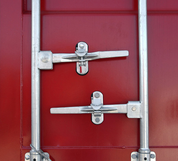 Storage container handles