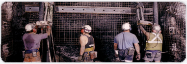 Tool storage for the oil and mining industry