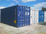 20 foot high cube containers