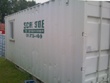 Combo Site Office with Storage