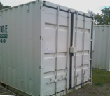 Storage section of Combo Site Office