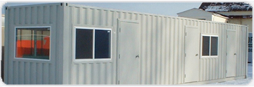 A wide variety of window options for your container