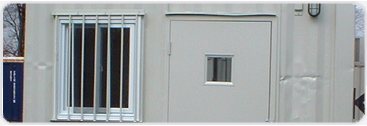 Security bars for your container