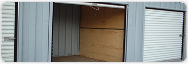 Sample of roll-up door with divider