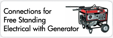 Generator connections for electrical