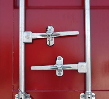 Storage container handles