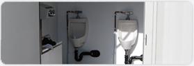 Unisex and gender specific washroom facilities