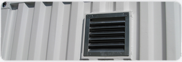 Enlarged steel vents